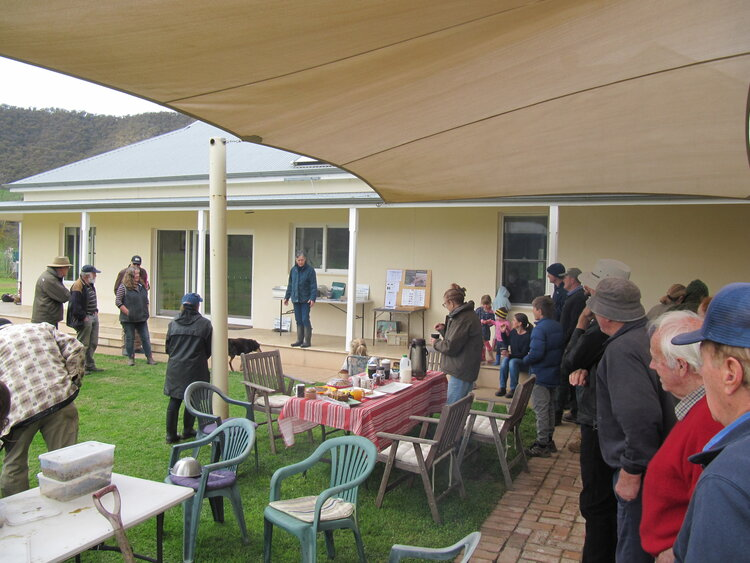 The Mitta Mitta Landcare Group hosted by Judy and Alec Cardwell